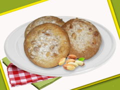 Biscuits with peanuts, kg